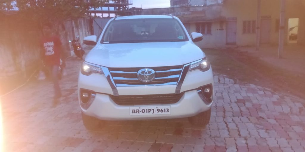New Toyota Fortuner on rent in Bihar